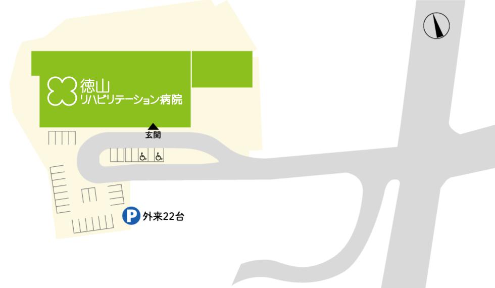 画像:駐車場略図