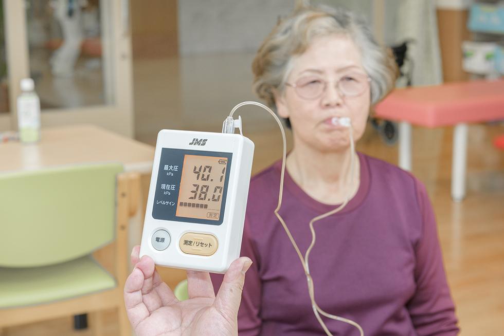 画像:舌圧測定器(JMS)